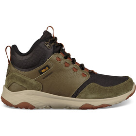 Teva Arrowood Venture WP Mid Shoes Herre dark olive